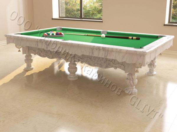 Бильярдный стол из натурального камня (мрамора) Калантэ, фото 2