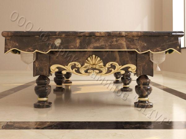 Бильярдный стол из натурального камня (мрамора) Калантэ, фото 4
