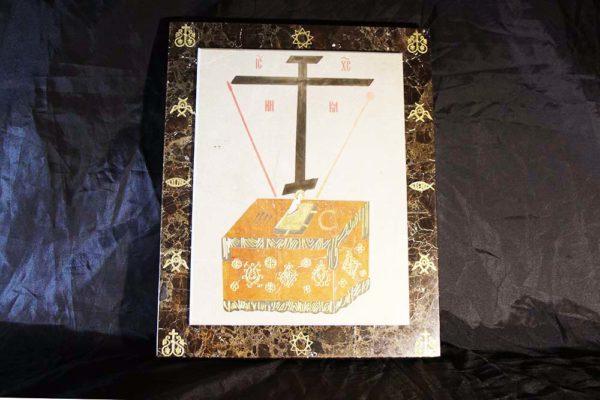 Икона Владимирской Божией Матери № 3 из мрамора, камня, от Гливи, фото 3