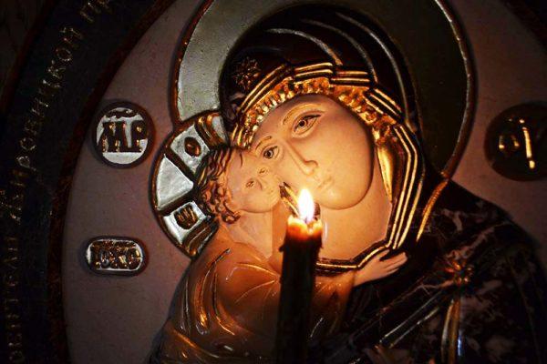 Икона Жировицкой Божией Матери № 1 (рельефная) из мрамора, камня, изображение, фото 9
