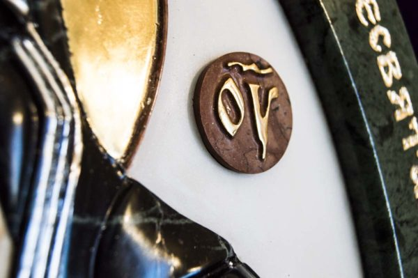 Икона Жировицкой Божией Матери (Богоматерь) № 5 (рельефная) из мрамора, камня, изображение, фото 12