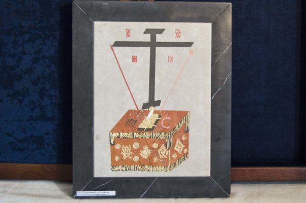 Икона Владимирской Божией Матери № 4 из мрамора, камня, от Гливи, фото 10