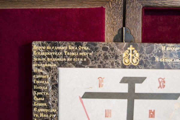 Икона Владимирской Божией Матери № 8 из мрамора, камня, от Гливи, фото 10