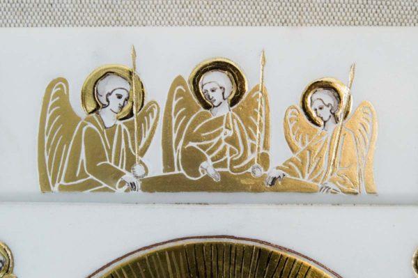 Икона Иверской Божией Матери № 1-25-1 из мрамора, камня, от Гливи, фото 7
