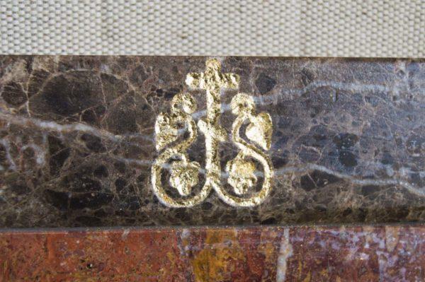 Икона Владимирской Божией Матери № 2-12-2 из мрамора, камня, от Гливи, фото 4