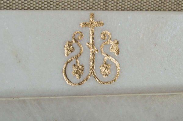 Икона Владимирской Божией Матери № 2-12-3 из мрамора, камня, от Гливи, фото 2