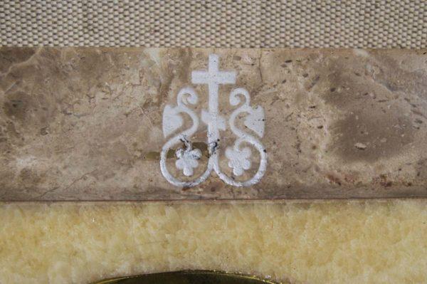Икона Владимирской Божией Матери № 2-12-4 из мрамора, камня, от Гливи, фото 9