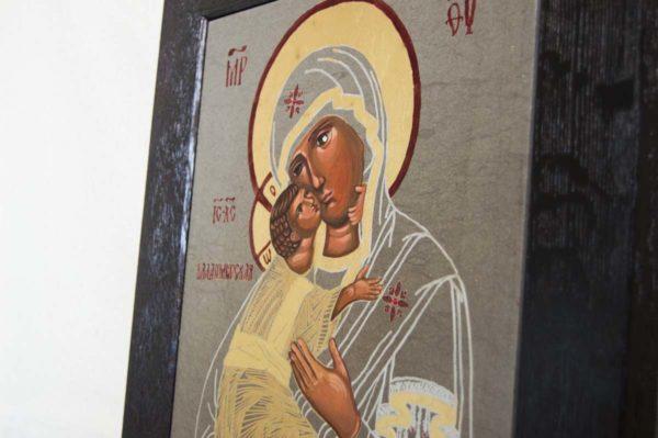 Икона Владимирской Божией Матери № 1-5 из мрамора, камня, от Гливи, фото 5