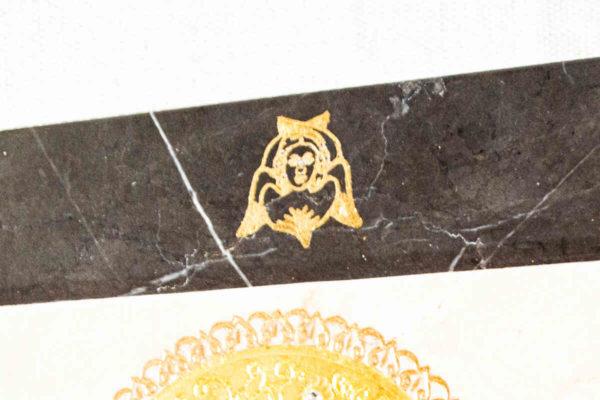 Икона Смоленской Божией Матери № 1-12-4 подарочная из мрамора, камня, изображение, фото 7