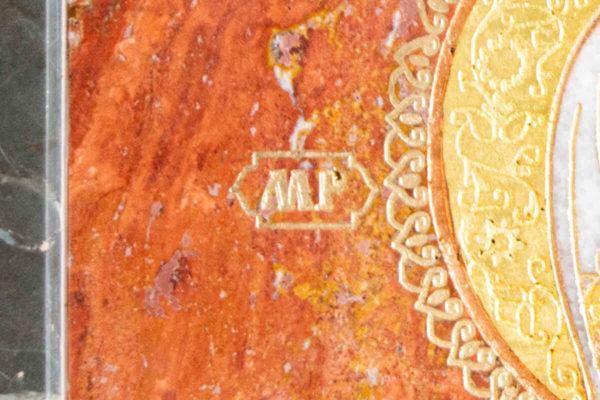 Икона Смоленской Божией Матери № 1-12-10 подарочная из мрамора, камня, изображение, фото 9
