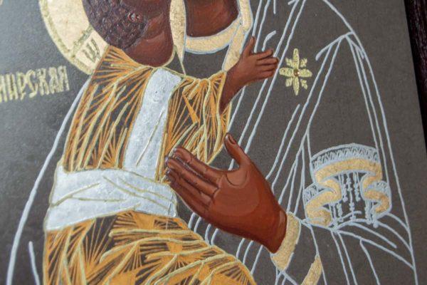 Икона Владимирской Божией Матери № 1-8 из мрамора, камня, от Гливи, фото 3