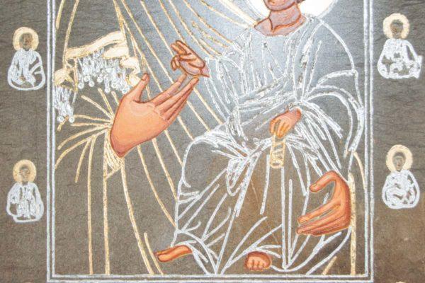 Икона Иверской Божией Матери № 1-5 из мрамора, камня, от Гливи, фото 6