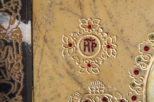Икона Божией Матери Троеручица № 2-12-11 из мрамора, камня, изображение, фото 11