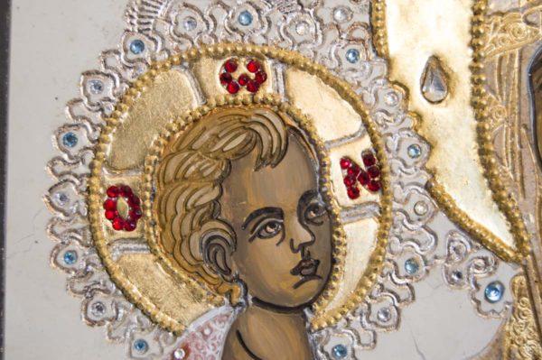 Икона Божией Матери Троеручица № 2-12-13 из мрамора, камня, изображение, фото 10