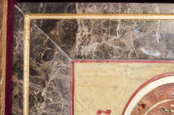 Икона Владимирской Божией Матери № 9 из мрамора, камня, от Гливи, фото 12
