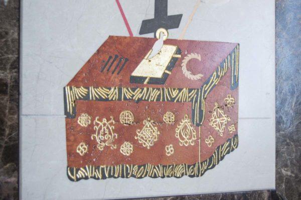 Икона Владимирской Божией Матери № 9 из мрамора, камня, от Гливи, фото 17