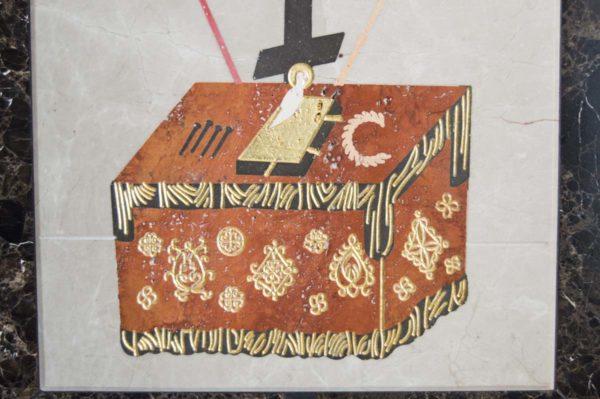 Икона Владимирской Божией Матери № 6 из мрамора, камня, от Гливи, фото 15