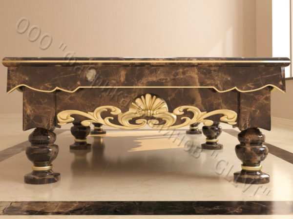 Бильярдный стол из натурального камня (мрамора) Калантэ, фото 9