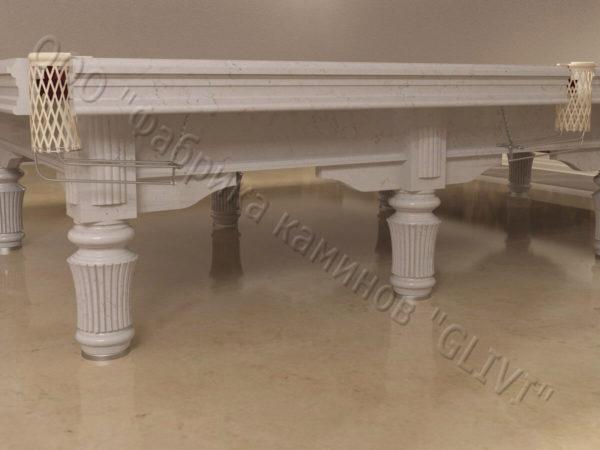 Бильярдный стол из натурального камня (мрамора) Мистле, фото 3