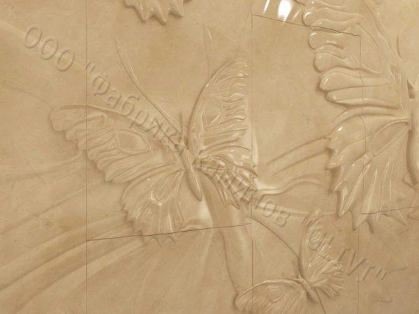 Барельеф из натурального камня (мрамора) Андро, фото 5