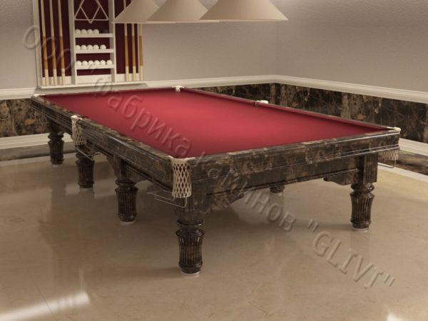 Бильярдный стол из натурального камня (мрамора) Мистле, фото 4