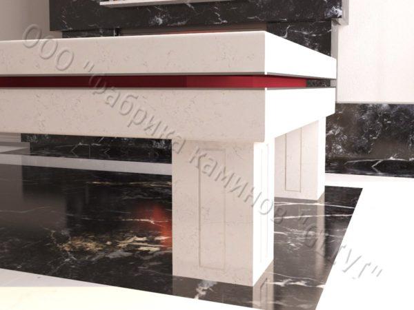 Бильярдный стол из натурального камня (мрамора) Виго, фото 3