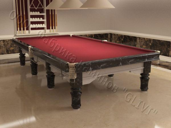 Бильярдный стол из натурального камня (мрамора) Мистле, фото 5