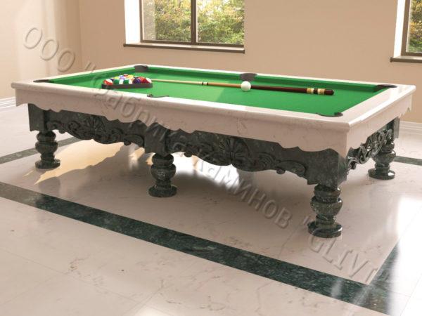 Бильярдный стол из натурального камня (мрамора) Калантэ, фото 11