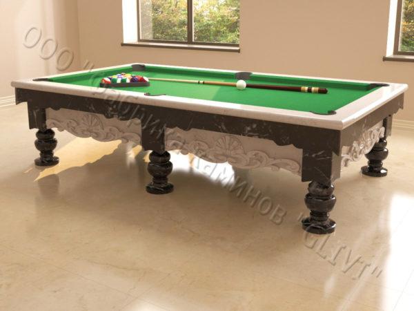 Бильярдный стол из натурального камня (мрамора) Калантэ, фото 13