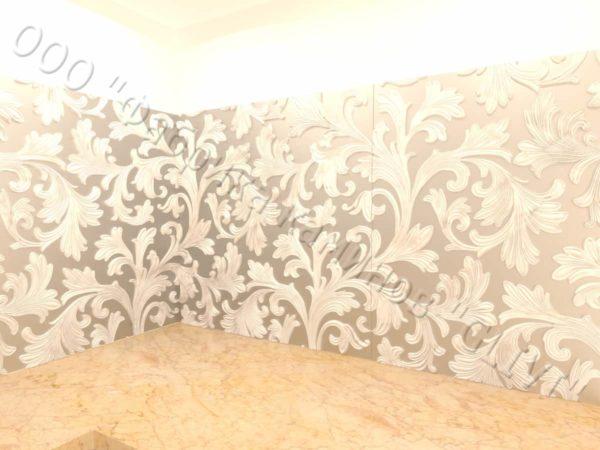 Барельеф из натурального камня (мрамора) Ажур , фото 8