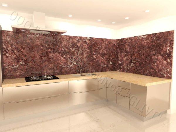 Барельеф из натурального камня (мрамора) Ажур , фото 9