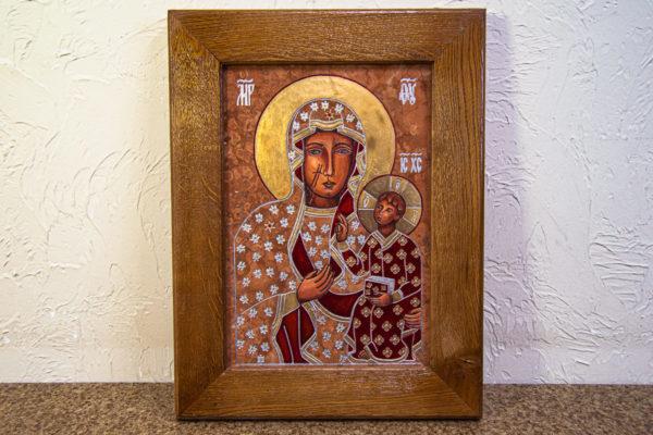 Ченстоховская икона № 3-07, изображение, фото 1