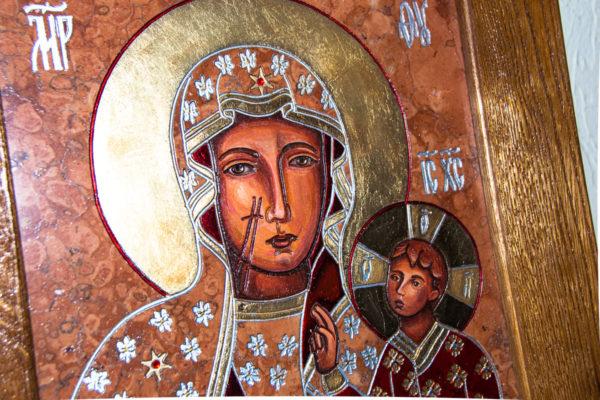 Ченстоховская икона № 3-07, изображение, фото 6
