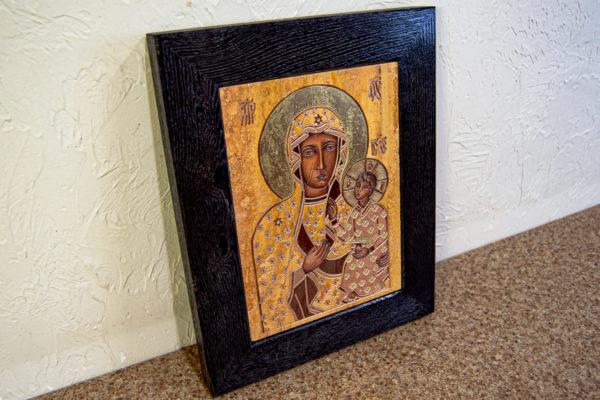 Ченстоховская икона № 3-06, изображение, фото 1