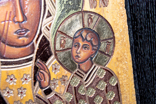 Ченстоховская икона № 3-06, изображение, фото 5