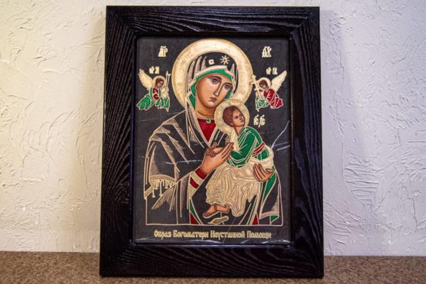 Икона Богоматерь Неустанной Помощи (Страстная икона Божией Матери) № 3-1, изображение, фото 14