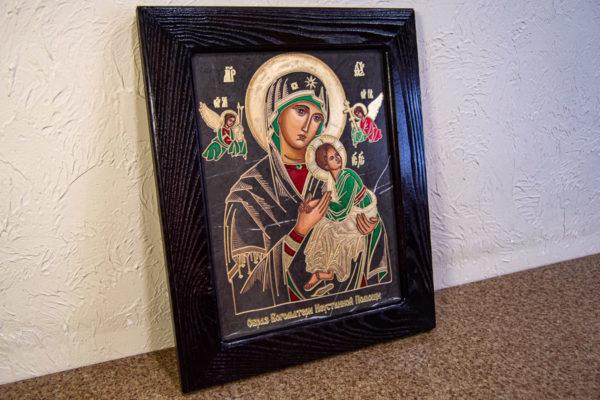 Икона Богоматерь Неустанной Помощи (Страстная икона Божией Матери) № 3-1, изображение, фото 15