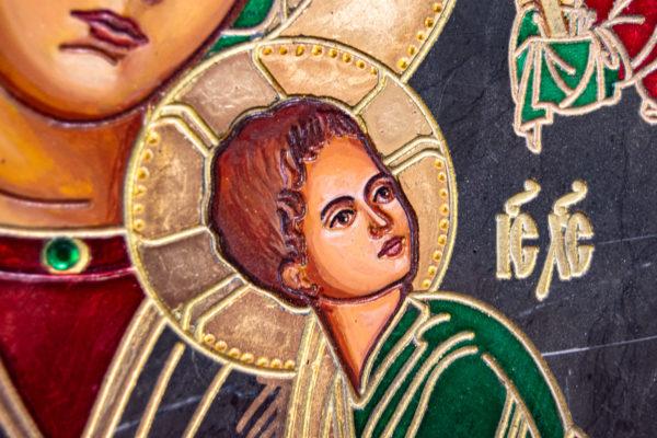 Икона Богоматерь Неустанной Помощи (Страстная икона Божией Матери) № 3-1, изображение, фото 10