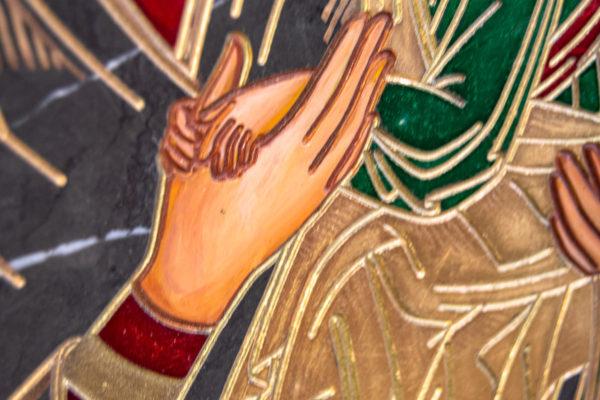 Икона Богоматерь Неустанной Помощи (Страстная икона Божией Матери) № 3-1, изображение, фото 11