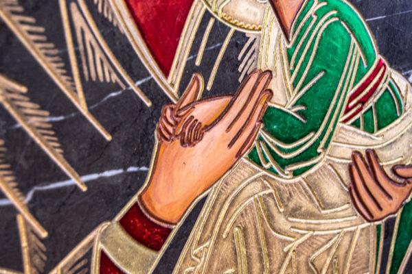 Икона Богоматерь Неустанной Помощи (Страстная икона Божией Матери) № 3-1, изображение, фото 12