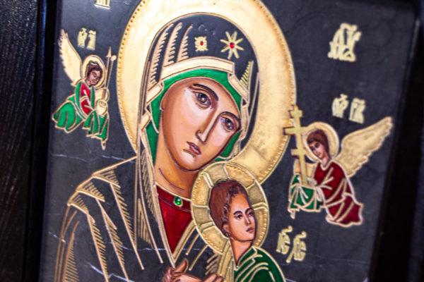 Икона Богоматерь Неустанной Помощи (Страстная икона Божией Матери) № 3-1, изображение, фото 6