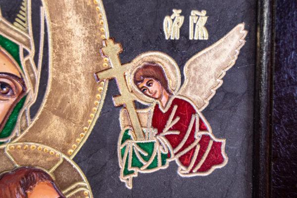 Икона Богоматерь Неустанной Помощи (Страстная икона Божией Матери) № 3-1, изображение, фото 2