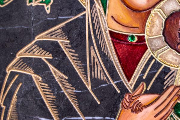 Икона Богоматерь Неустанной Помощи (Страстная икона Божией Матери) № 3-1, изображение, фото 3