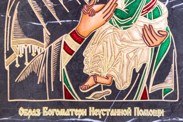 Икона Богоматерь Неустанной Помощи (Страстная икона Божией Матери) № 3-1, изображение, фото 4