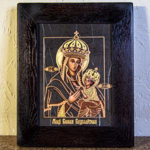 Икона Будславской Богоматери № 3-02, изображение, фото 1