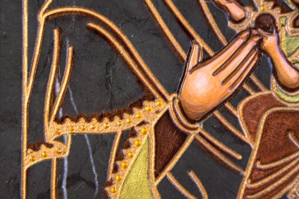 Икона Будславской Богоматери № 3-02, изображение, фото 2