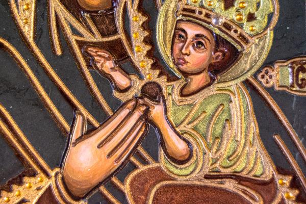 Икона Будславской Богоматери № 3-02, изображение, фото 3