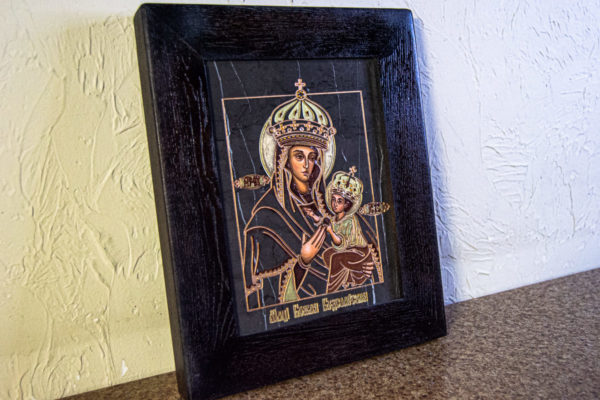 Икона Будславской Богоматери № 3-02, изображение, фото 5