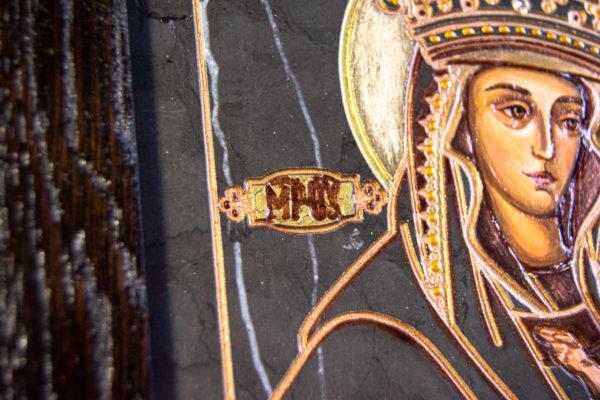 Икона Будславской Богоматери № 3-02, изображение, фото 6