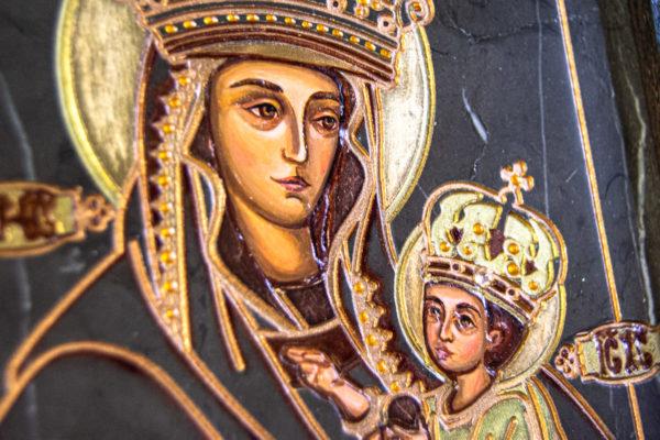 Икона Будславской Богоматери № 3-02, изображение, фото 7